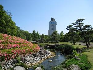 駿府城公園-紅葉山庭園2
