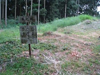 諏訪原城跡(本丸跡)