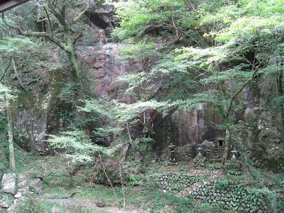 滝ノ谷不動峡(魔崖仏)