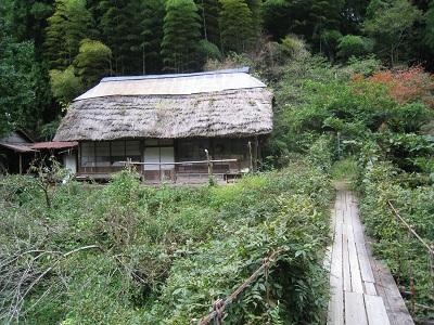 滝ノ谷不動峡(古民家)