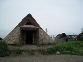 登呂遺跡(全景)
