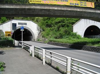 宇津ノ谷(昭和トンネルと平成トンネル)