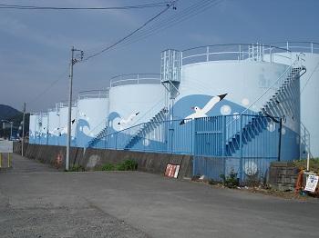 焼津港(タンク)