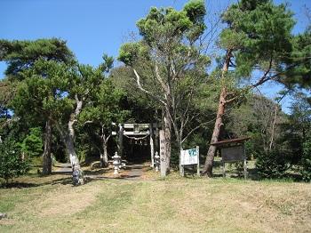 横地城跡(横地神社)