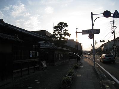 興津坐漁荘(道路)
