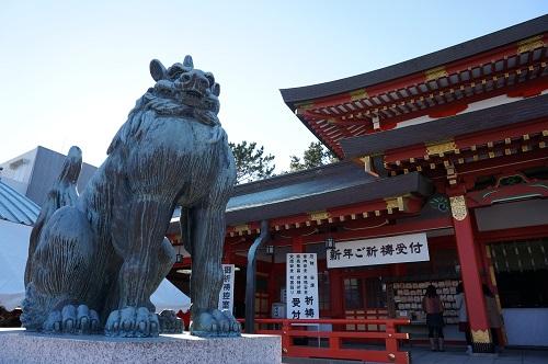 五社神社(狛犬)