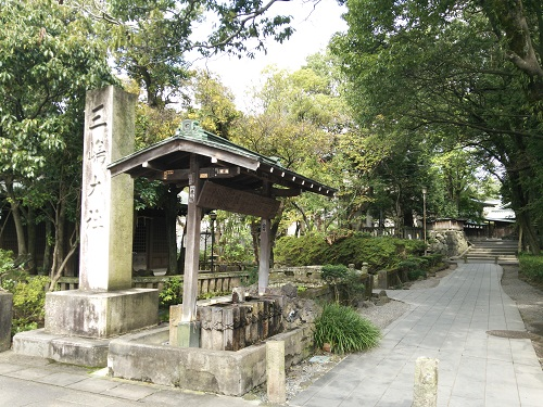 三嶋大社(西側入口)
