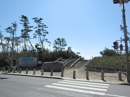 中田島砂丘(入口)