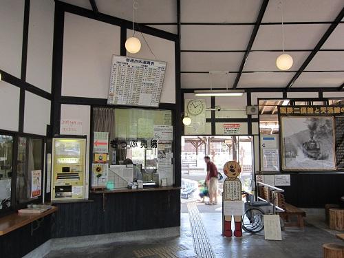 天竜二俣駅(改札)
