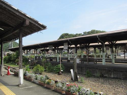 天竜二俣駅(ホーム)