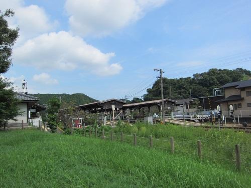 天竜二俣駅(ホーム遠景)
