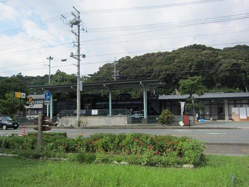 天竜二俣駅(SL)