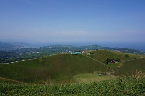 大室山(お鉢)