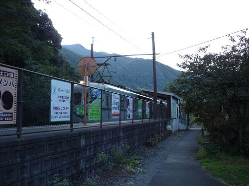 川根温泉笹間渡駅(電車)