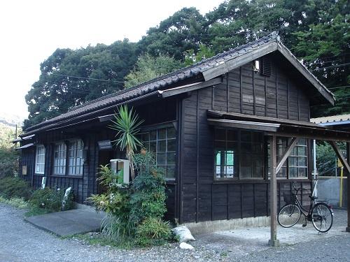 川根温泉笹間渡駅(駅舎)