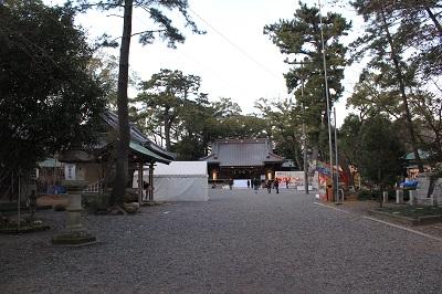 焼津神社(参道)