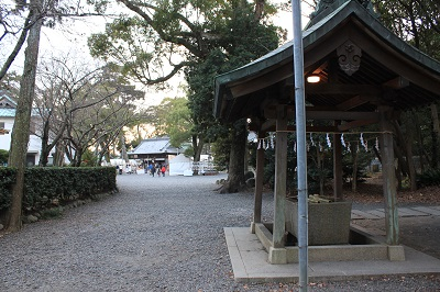 焼津神社(手洗)