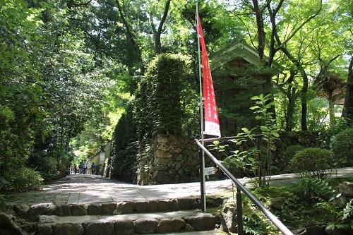 龍潭寺(参道)