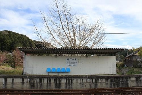 遠江一宮駅(ホーム)