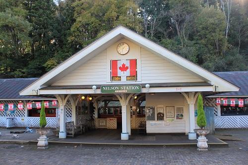 ネルソン駅舎(修善寺虹の郷)