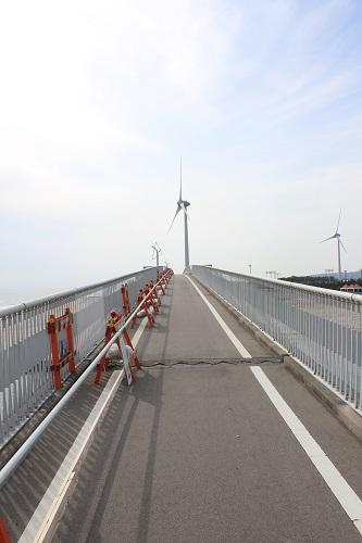 潮騒橋の幅