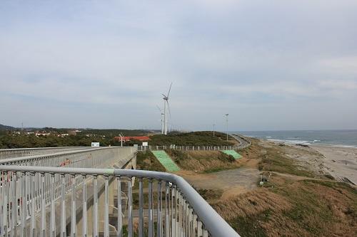 潮騒橋の中央部分