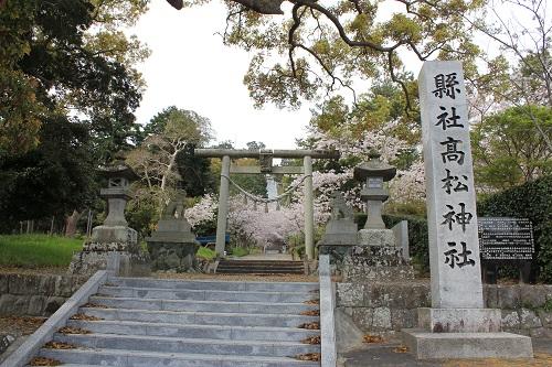 高松神社の鳥居