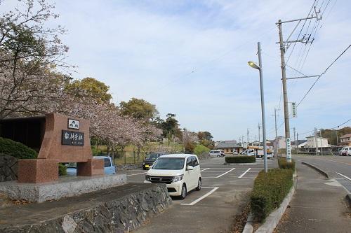 高松神社(駐車場)