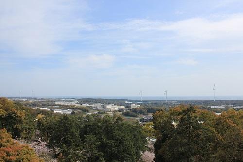 高松神社からの眺め