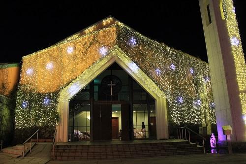 桜の礼拝堂(御殿場高原時之栖)