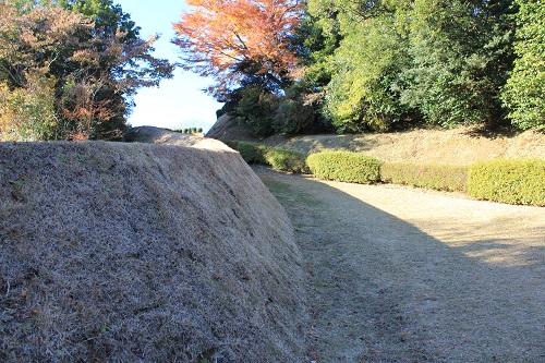 土塀(山中城)