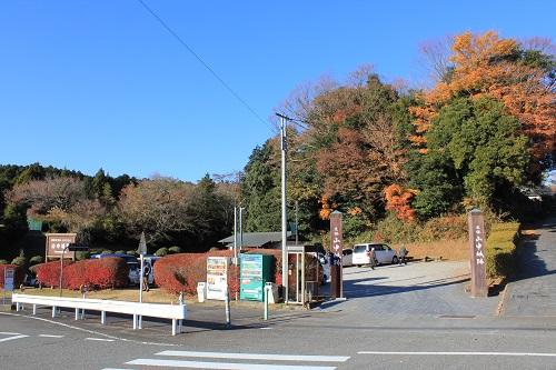 駐車場(山中城)