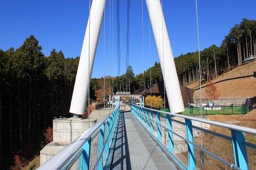 吊り橋終端(三島スカイウォーク)