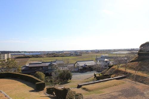 横須賀城からの景色
