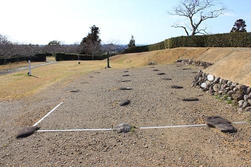 横須賀城天守台の土台