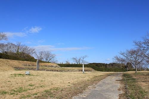横須賀城天守全景