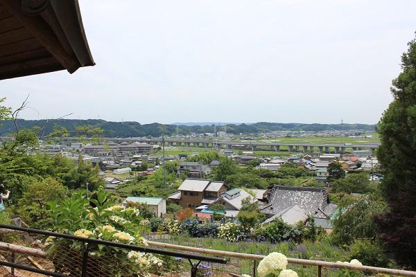 頂上からの眺め(香勝寺/ききょう寺)