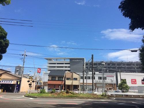 MARK IS 静岡(護国神社から)
