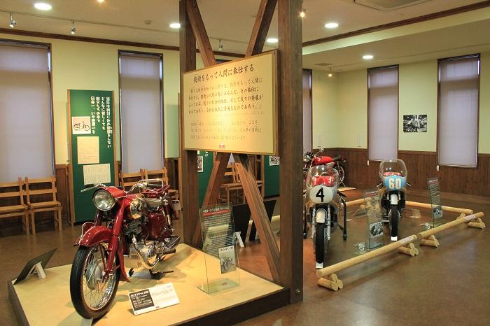 バイク(本田宗一郎ものづくり伝承館)