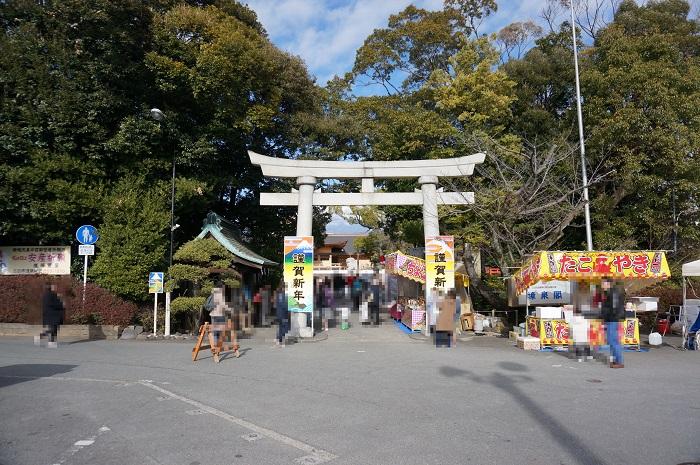 富知六所浅間神社(鳥居)