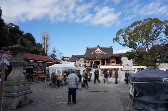 富知六所浅間神社(全体)