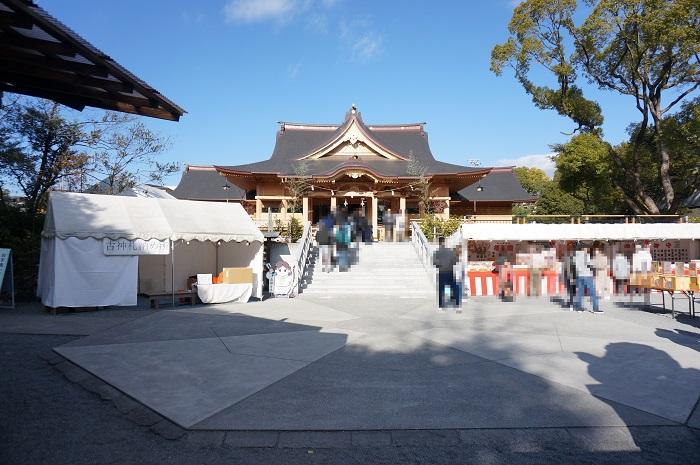 富知六所浅間神社(本殿全体)