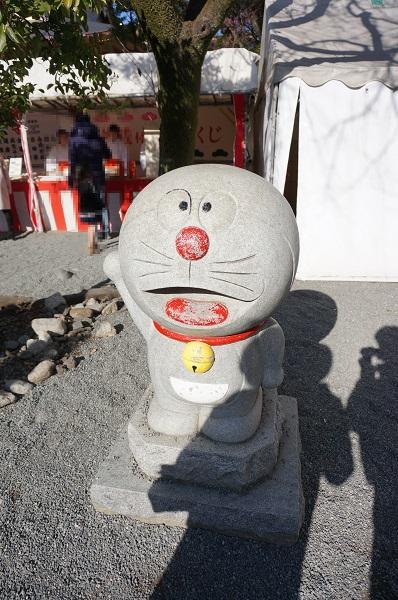 富知六所浅間神社(ドラえもん)