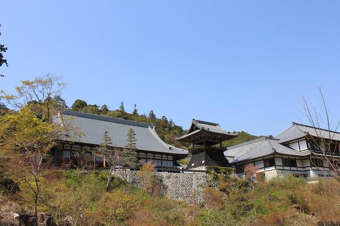 奥山方広寺 本堂(遠くから)