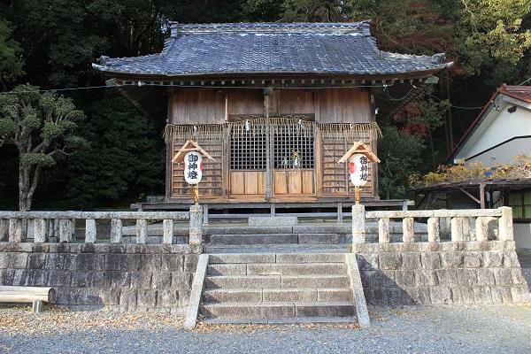 本殿(若一王子神社)