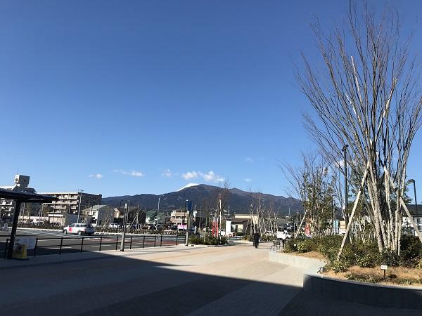 ららぽーと沼津から見る富士山
