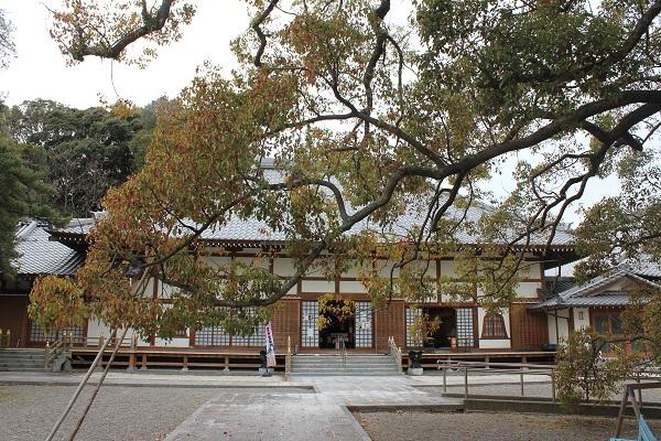 西光寺(本堂を遠くから)