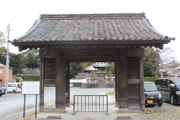 西光寺(表門)