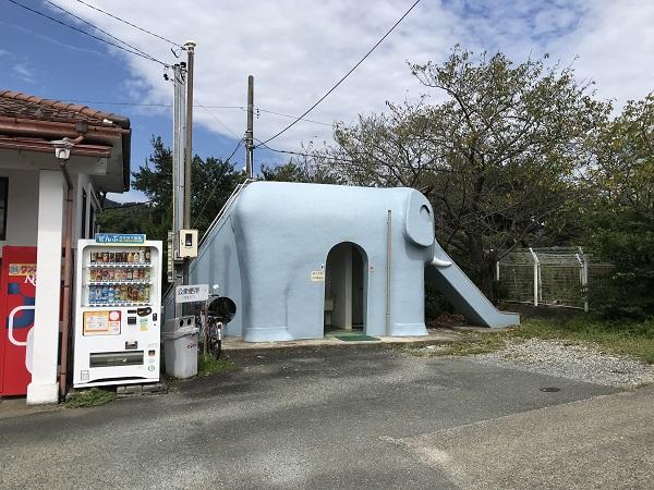 天浜線都筑駅(ぞうのトイレ)