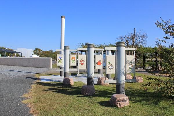 浜名湖ガーデンパーク(キャラクター看板)